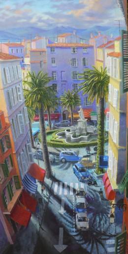 Ajaccio Place des Palmiers