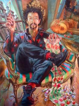 Autoportrait de peintre