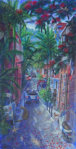 Rue du Général de Gaulle - Gustavia